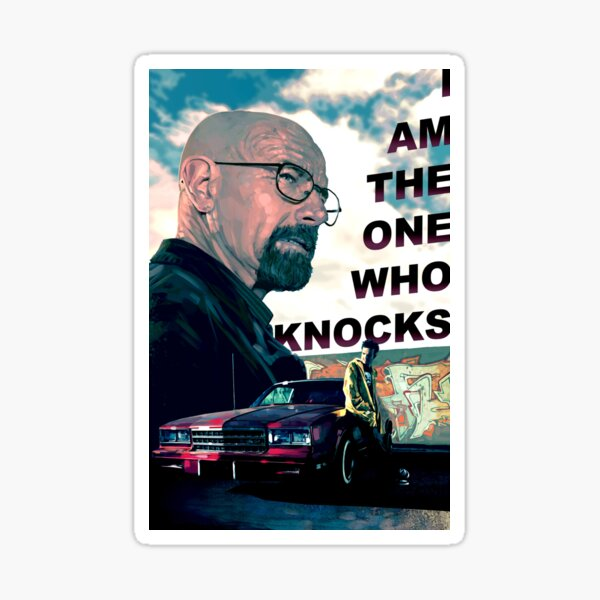 Breaking Bad - The One Who Knocks Sticker