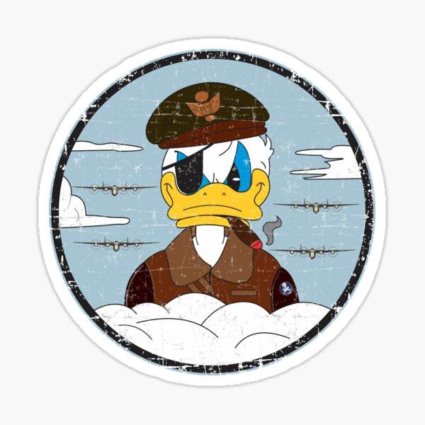 B-24 Liberator Bomb Group Patch - Grunge Style Sticker