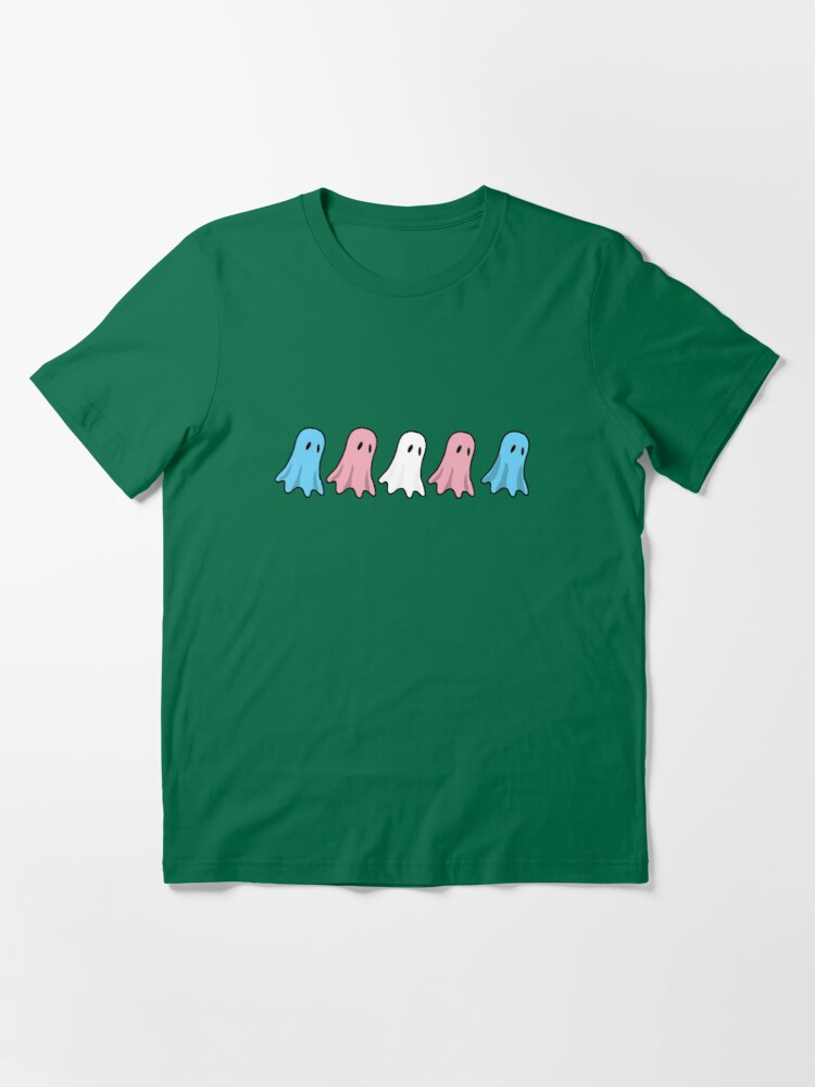 Alternate view of Spoopy trans Halloween ghosts and ghouls Essential T-Shirt