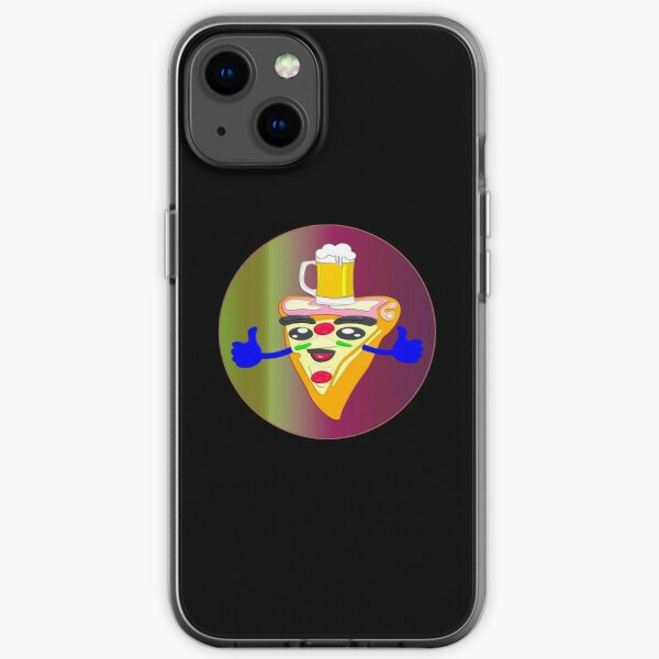 BEER AND PIZZA DAY iPhone Soft Case