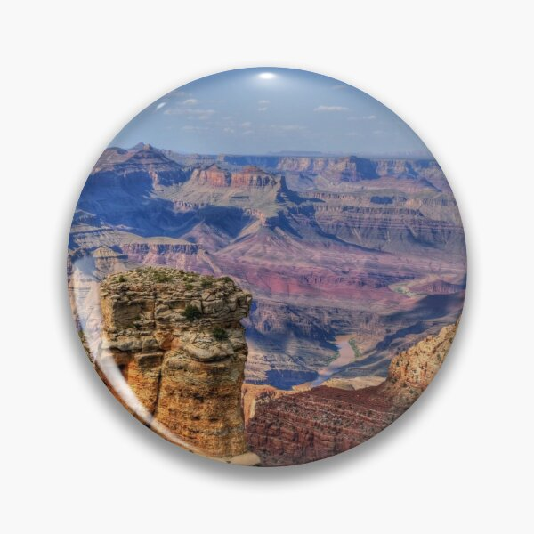 The Majestic South Rim Of The Grand Canyon Pin