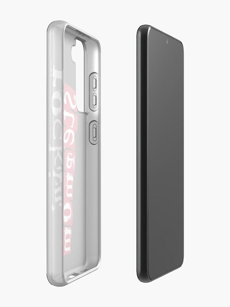 Alternate view of ROCKIN' Stepmom - black Case & Skin for Samsung Galaxy