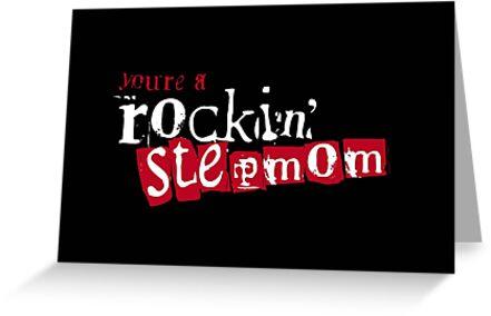 ROCKIN' Stepmom - black by stepmomgifts