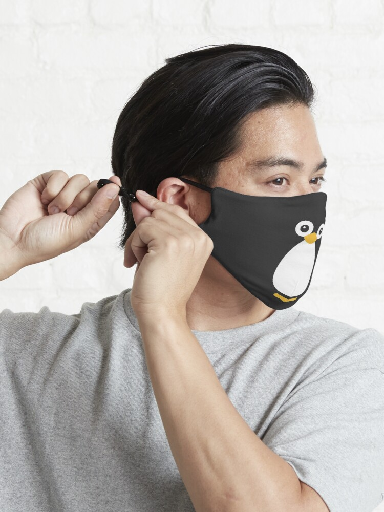 Alternate view of Cute Vector Penguin Mask