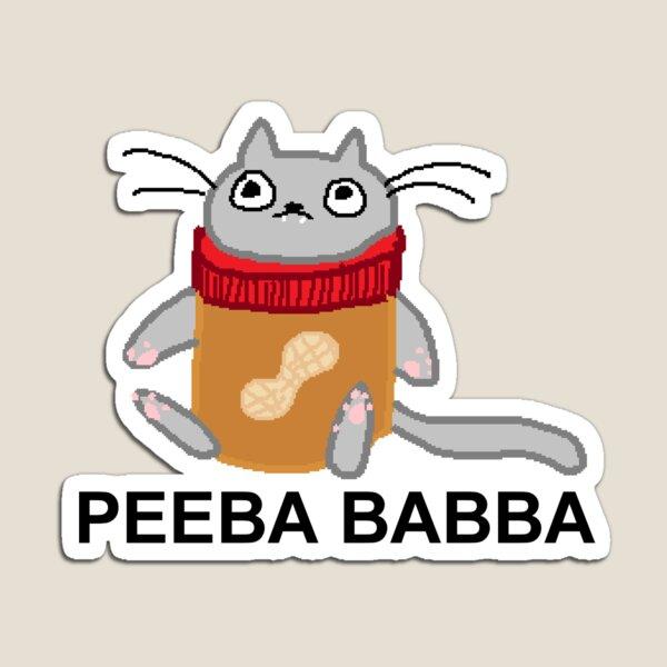 peeba babba Magnet