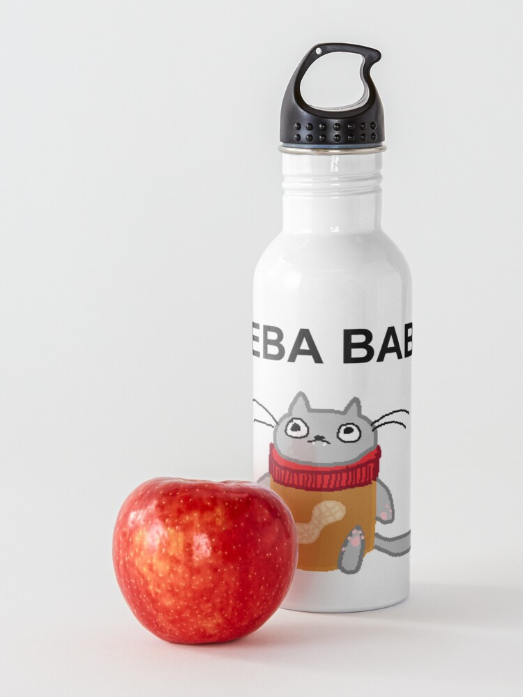 Alternate view of peeba babba Water Bottle