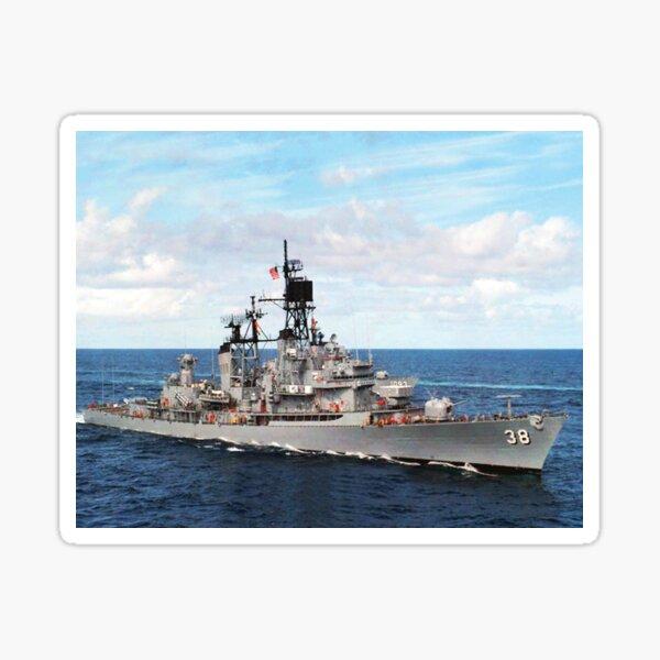 Sticker Military USN U S Navy USS LUCE DDG 38 DLG 7 Oval Decal