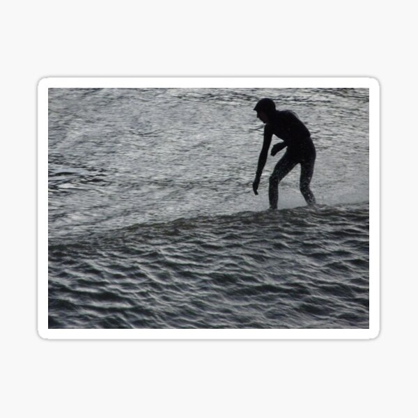 Saltburn Surfing #3 Sticker