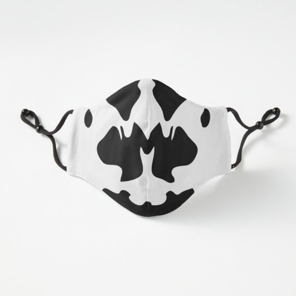 Rorschach mask style (Covid19 Comics style for movie geeks) Fitted 3-Layer