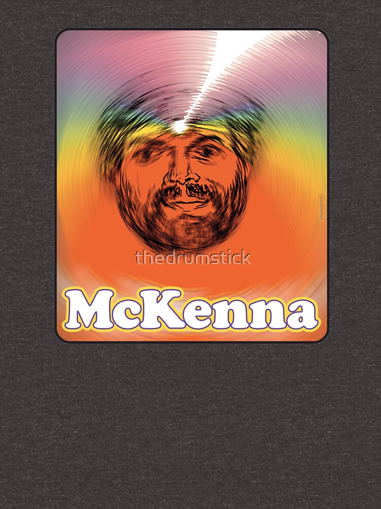 Terence McKenna Third Eye Rainbow by thedrumstick