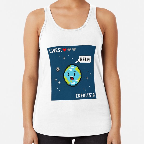 Save the Planet Racerback Tank Top