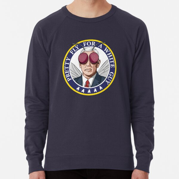 Pretty Fly For A White Guy Debate WTFBrahh Lightweight Sweatshirt