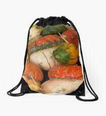 Winter Squash Drawstring Bag