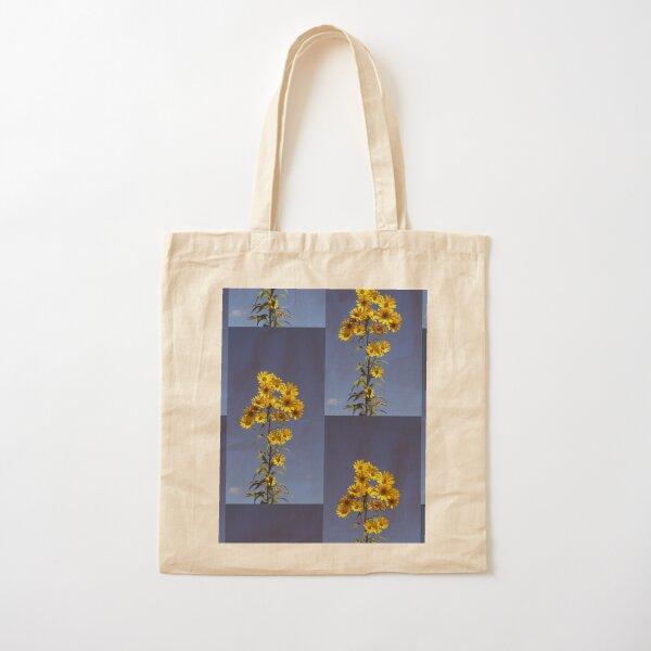 Yellow Cotton Tote Bag