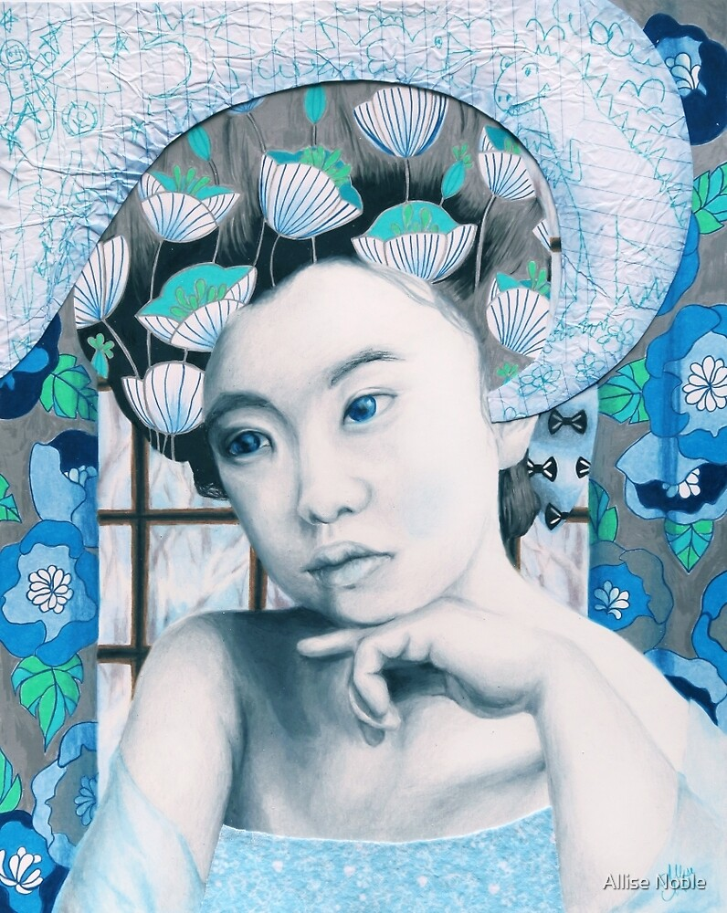 January - She Is Far Away by Allise Noble