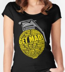 Portal 2 combustible lemon quote Women's Fitted Scoop T-Shirt