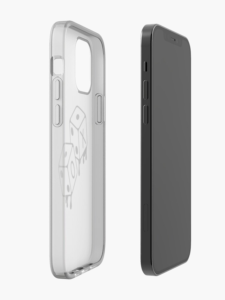 Alternate view of After Hours XO Dice Black and White Design iPhone Case & Cover