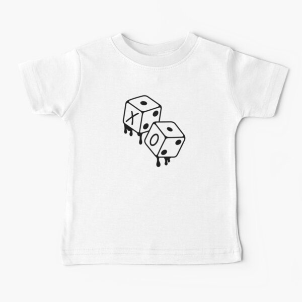 After Hours XO Dice Black and White Design Baby T-Shirt