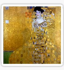 Beautiful The Woman in Gold Gustav Klimt Sticker