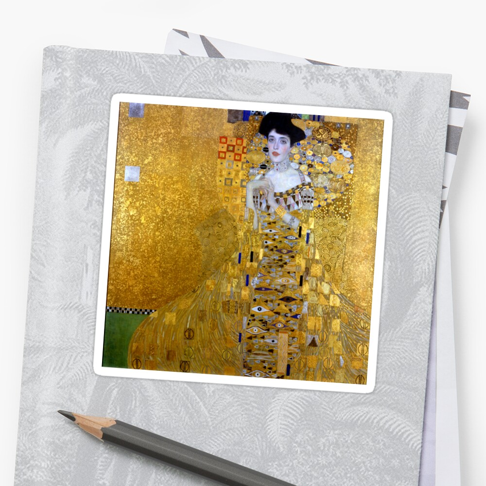 Beautiful The Woman in Gold Gustav Klimt by pdgraphics