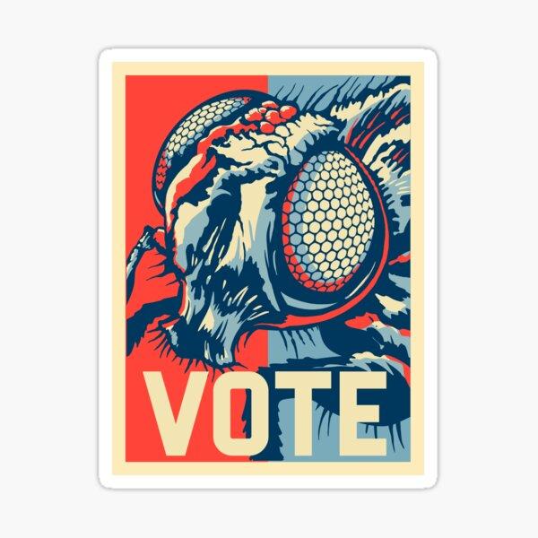 Vote Fly 2020 Debate WTFBrahh Sticker