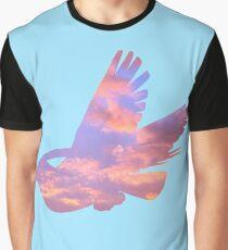 Pidgeot Sky Silhouette Graphic T-Shirt