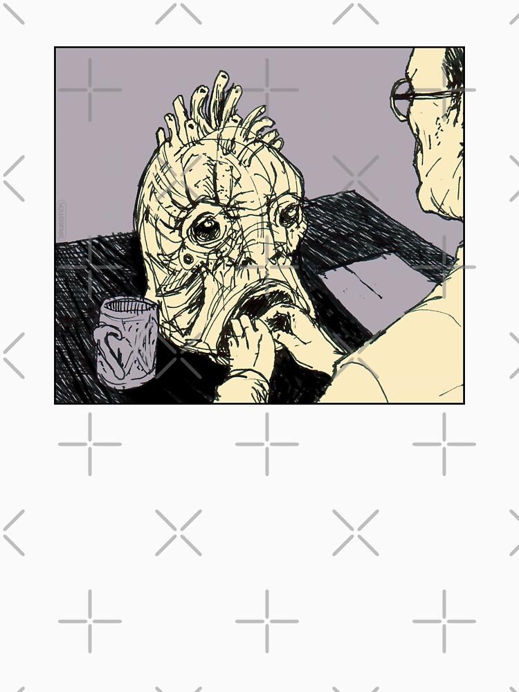 basierend auf dem Buch von William S. Burroughs.  * Zeichnung & Design von Drumstick:  ! https: //ih0.redbubble.net/image.174283221.4587/raf von thedrumstick