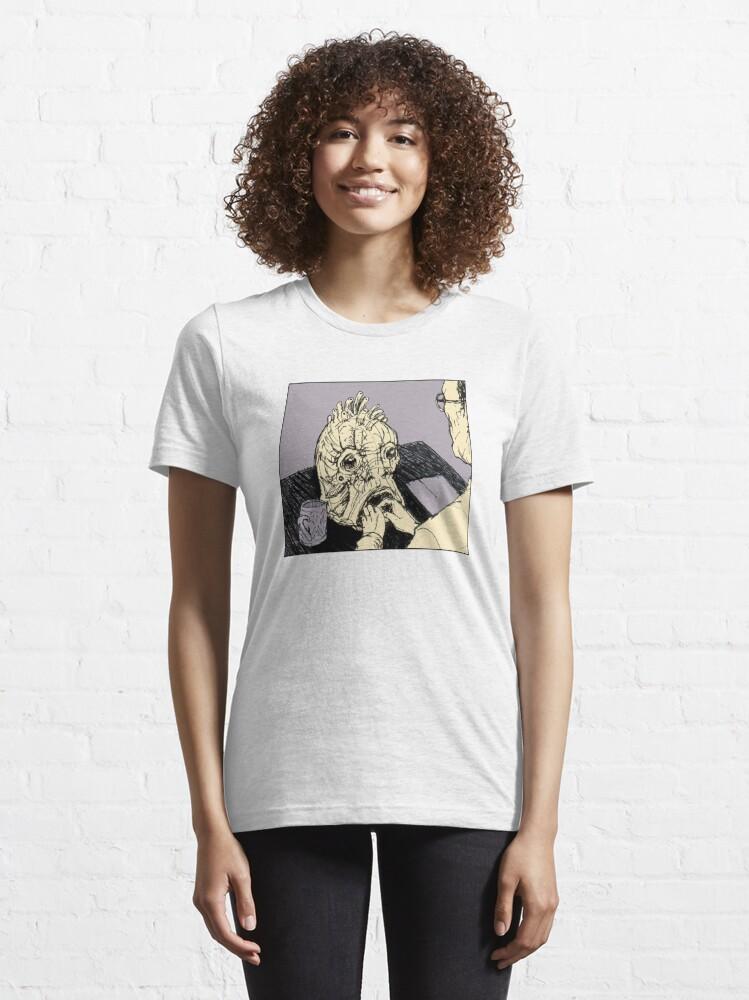 Alternative Ansicht von  basierend auf dem Buch von William S. Burroughs.  * Zeichnung & Design von Drumstick:  ! https: //ih0.redbubble.net/image.174283221.4587/raf Essential T-Shirt