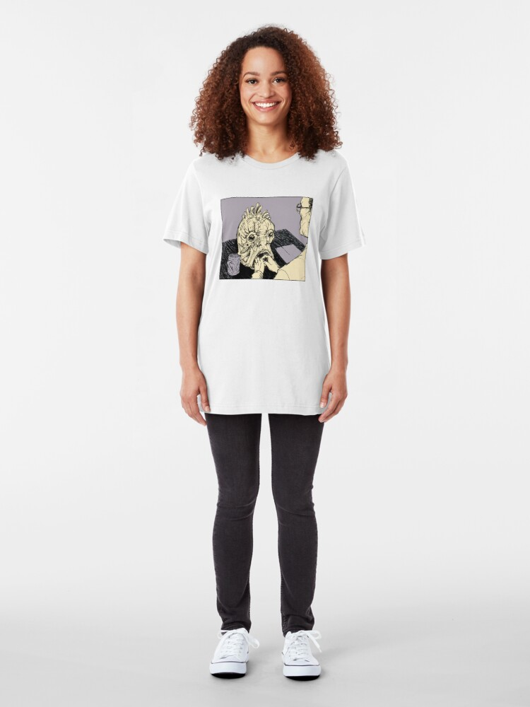 Alternate view of The Mugwump (Naked Lunch) Slim Fit T-Shirt