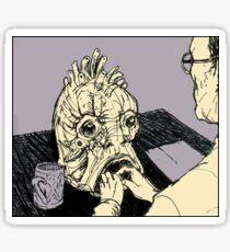 The Mugwump (Naked Lunch) Sticker