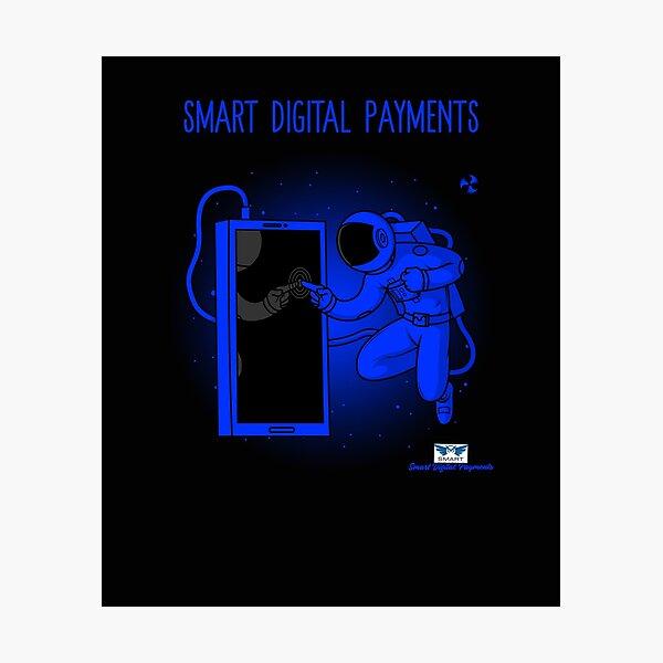 Astronaut #3 - Smart Digital Payments Photographic Print