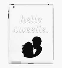 Hello Sweetie {FULL} iPad Case/Skin