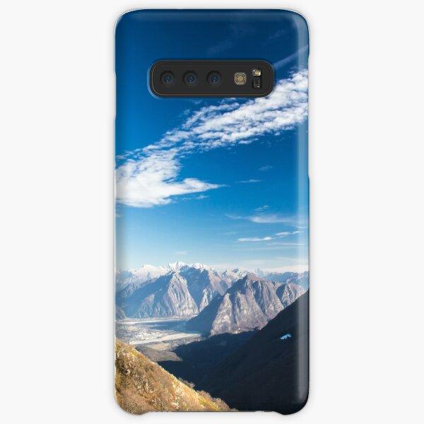Autumn morning in the alps Samsung Galaxy Snap Case