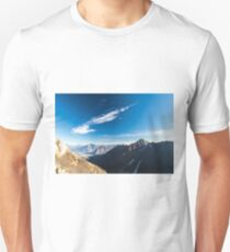 Autumn morning in the alps Unisex T-Shirt