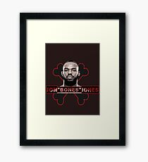 Jon Bones Jones UFC fighter Framed Print
