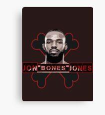 Jon Bones Jones UFC fighter Canvas Print
