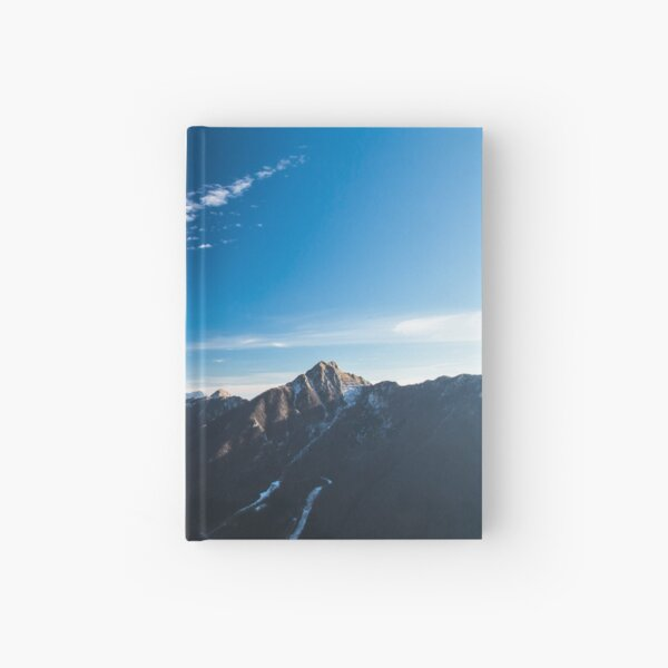 Autumn morning in the alps Hardcover Journal