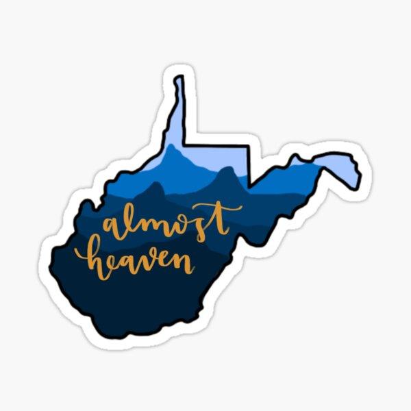 West Virginia: Almost Heaven Sticker
