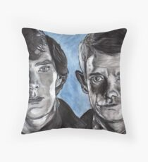 """""""The Game is On"""" Throw Pillow"""