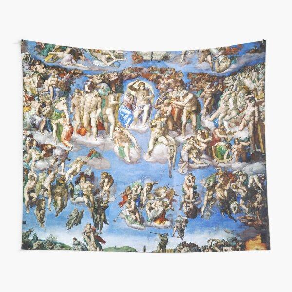 Michelangelo The Last Judgement Tapestry