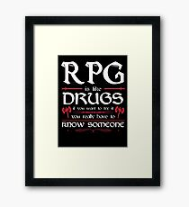 RPG - Roleplay Game Framed Print