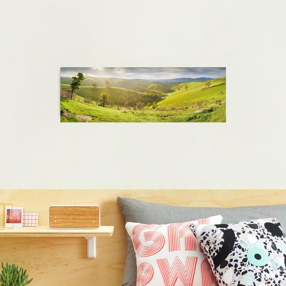 Buchan Valley Dawn, Victoria, Australia Photographic Print