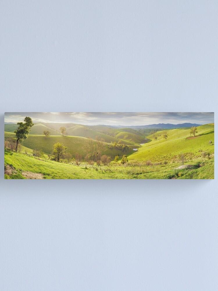 Alternate view of Buchan Valley Dawn, Victoria, Australia Canvas Print