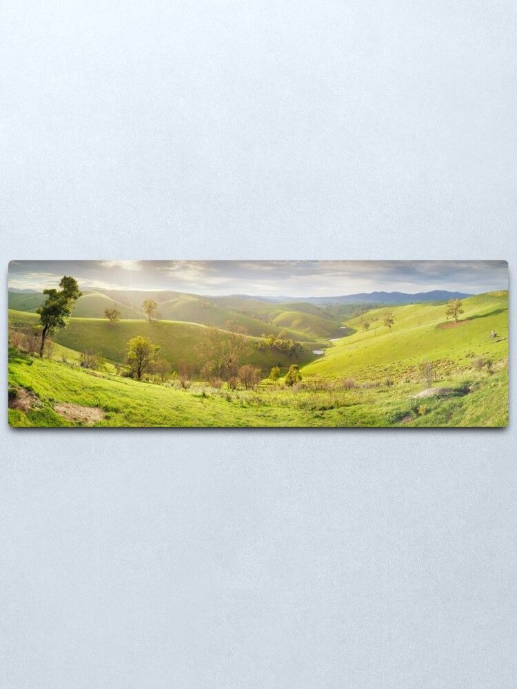 Alternate view of Buchan Valley Dawn, Victoria, Australia Metal Print