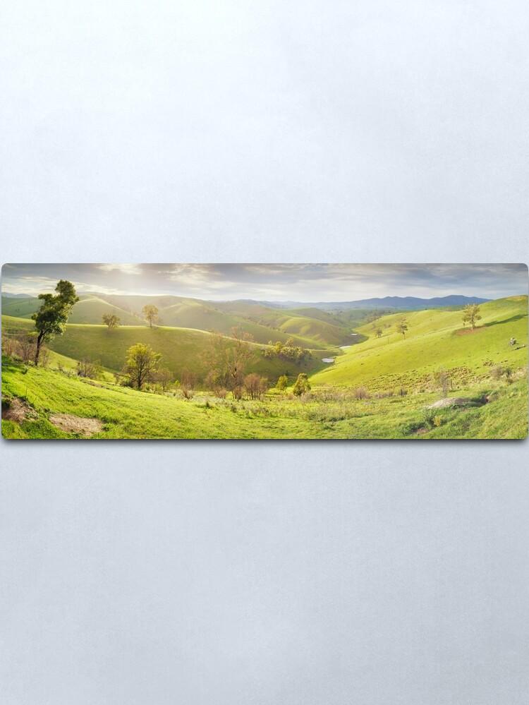 Alternate view of Buchan Valley Dawn, Victoria, Australia Metal Print
