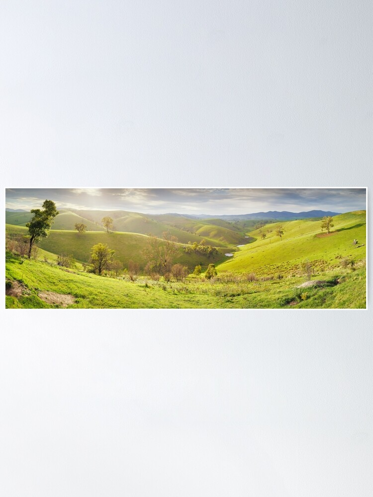 Alternate view of Buchan Valley Dawn, Victoria, Australia Poster