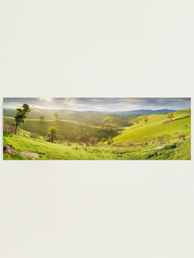 Alternate view of Buchan Valley Dawn, Victoria, Australia Photographic Print