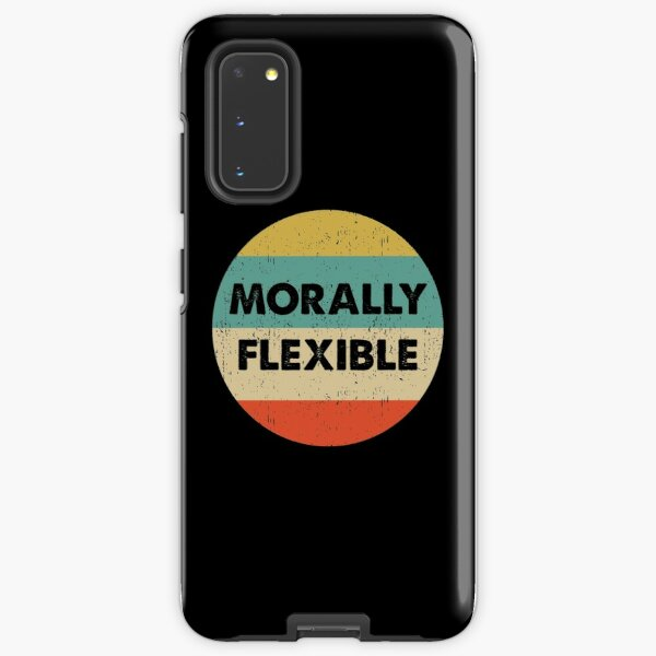 Morally Flexible design Samsung Galaxy Tough Case