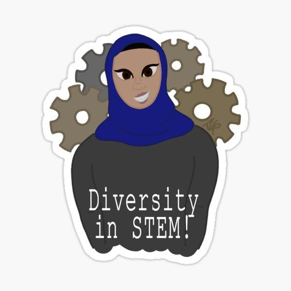 Diversity In Stem! Sticker