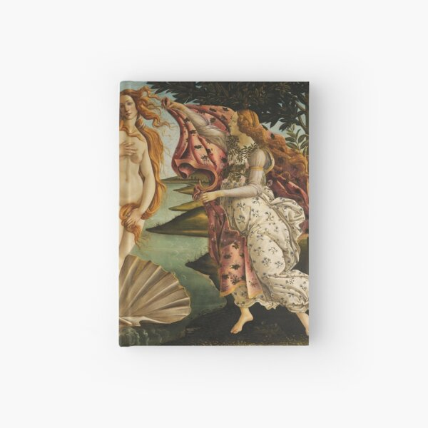 The Birth of Venus by Botticelli Hardcover Journal